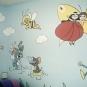 Komerční práce - Fasádní malby v interiéru